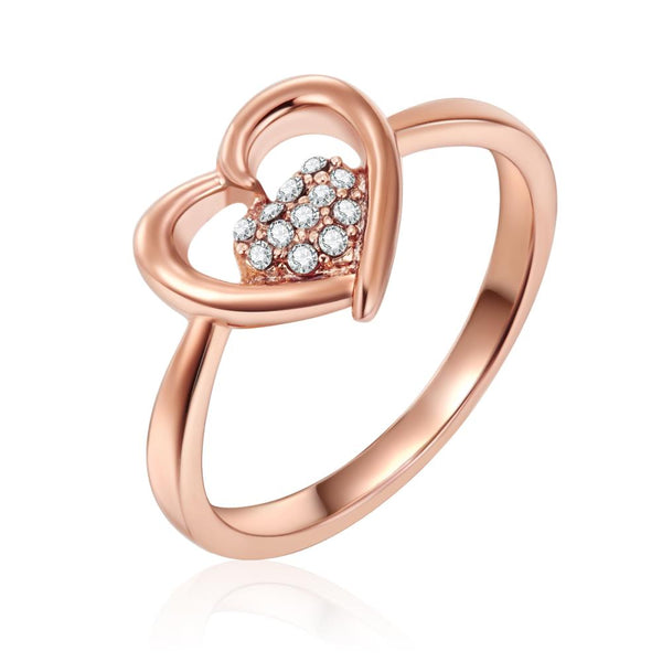 Rose Gold Love Within Ring