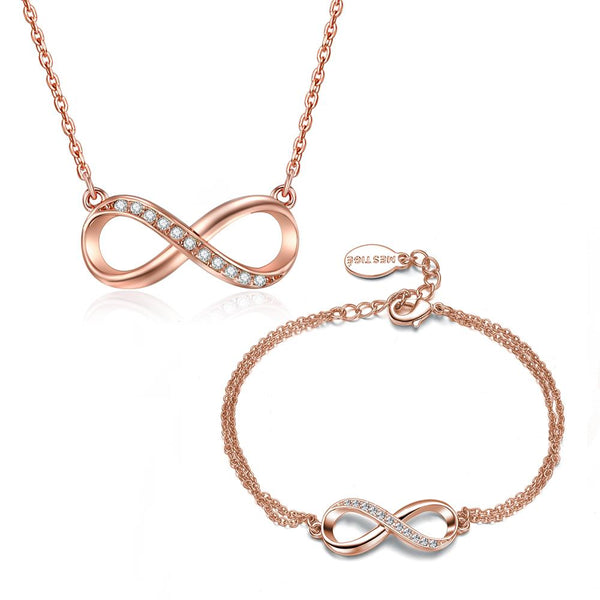 Infinitely Yours Set In Rose Gold