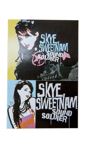 SKYE SWEETNAM - Stickers - Sound Soldier era