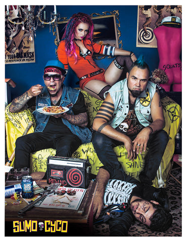 Sumo Cyco band photo by Francesca Ludikar