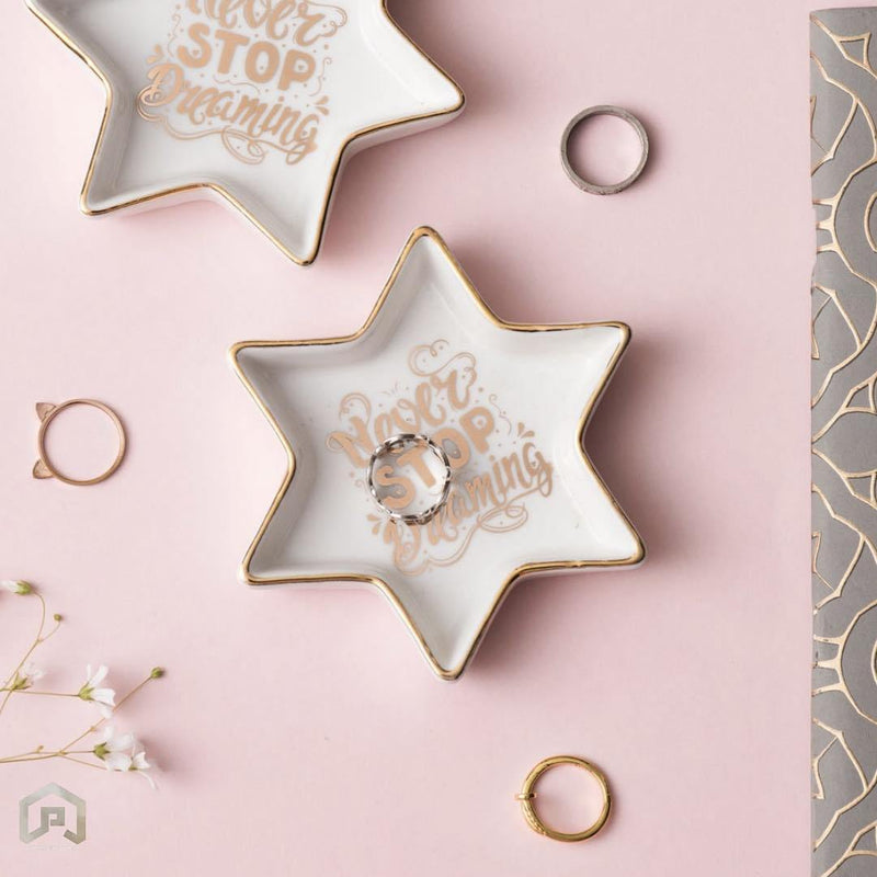Never Stop Dreaming Star Trinket Tray