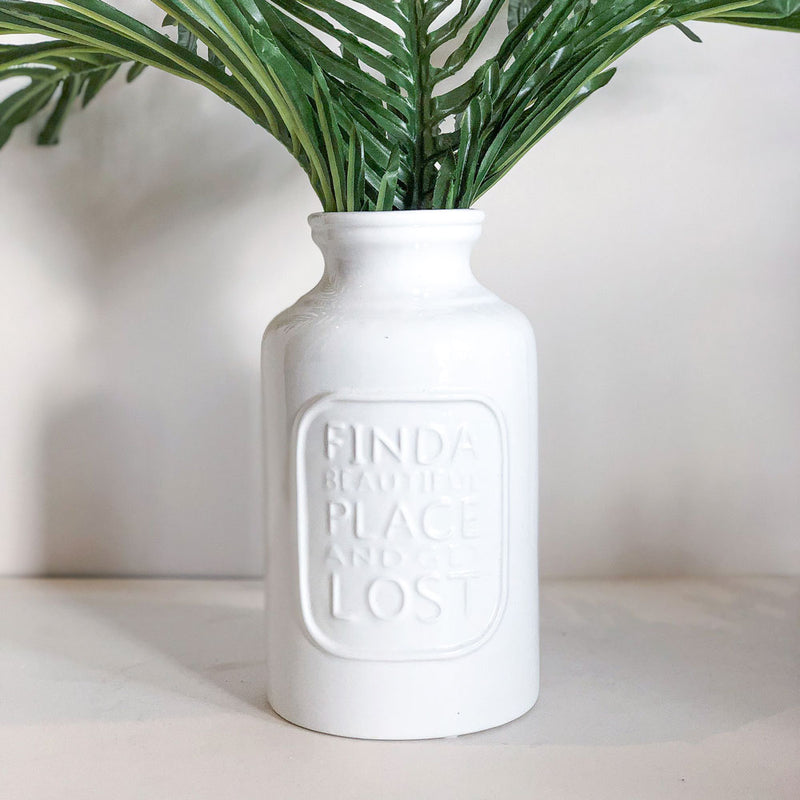 Find A Beautiful Place Vase