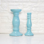 Blue Ceramic Table Decor