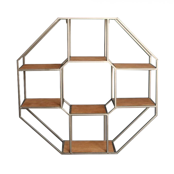 Octagon Arch Wall Display Shelf