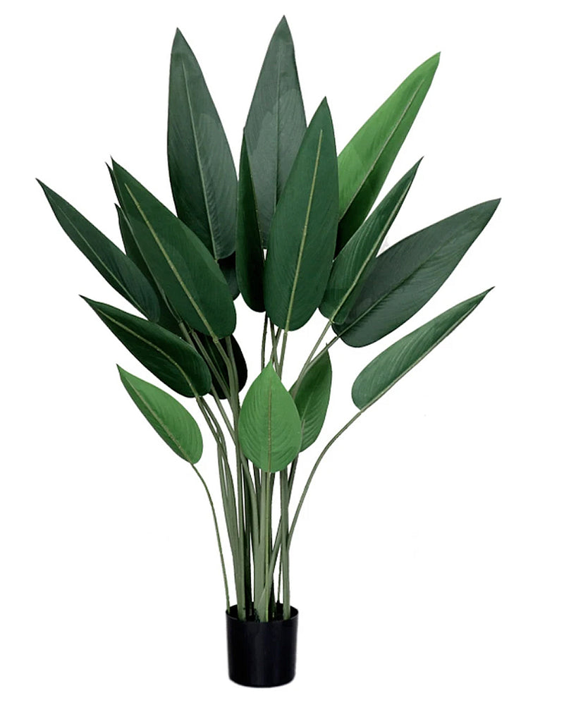 Potted Faux Bird of Paradise Traveller Tree 110cm