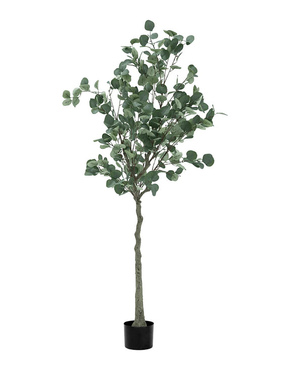 Potted Faux Eucalyptus Tree Plant 120cm