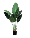Potted Faux Traveller's Ravenala Palm Tree 120cm