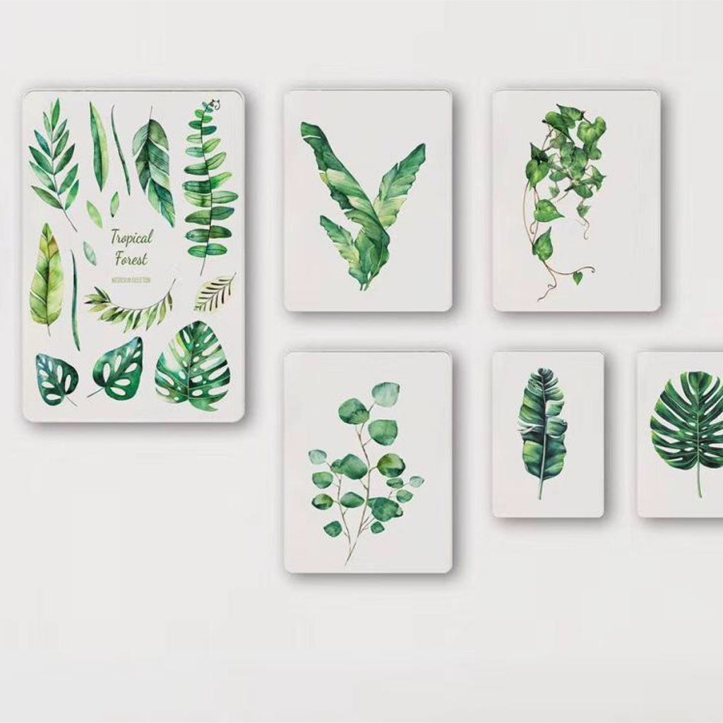 Monstera Design Wall Set
