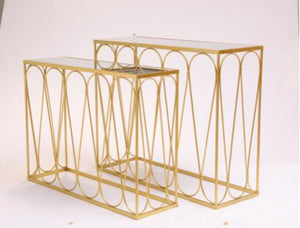 Modern Art Deco Console Table