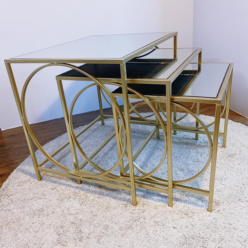 Gatsby Style Nesting Tables
