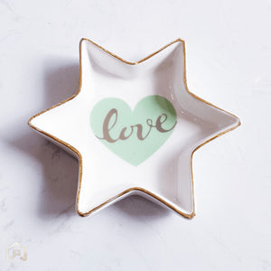 Love Star Trinket Tray