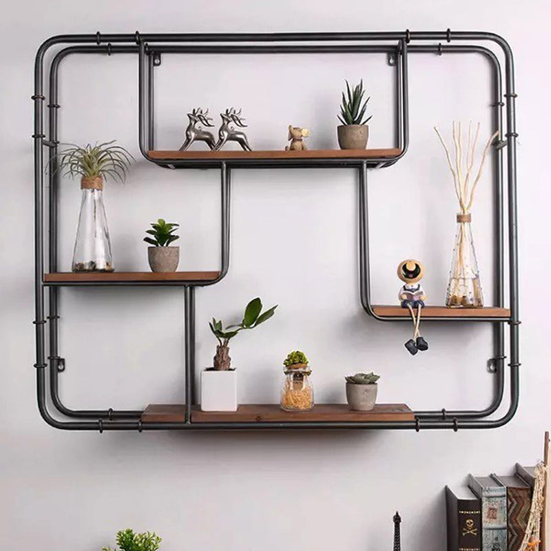 Round Edge Wall Display Shelf