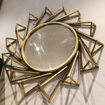Sunburst Hanging Mirror