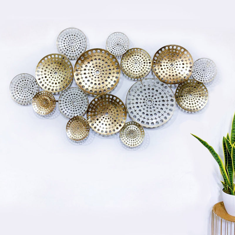 Nordic Gold Wall Hanging with Holes