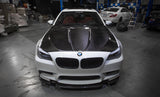 Agency Power Carbon Fiber Hood with Vented Cowl BMW F10 M5 550 535 528 2011