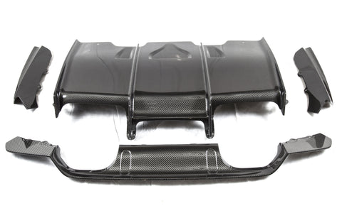 PSM Dynamic F8X Rear Diffuser w/ Undertray -  - 1