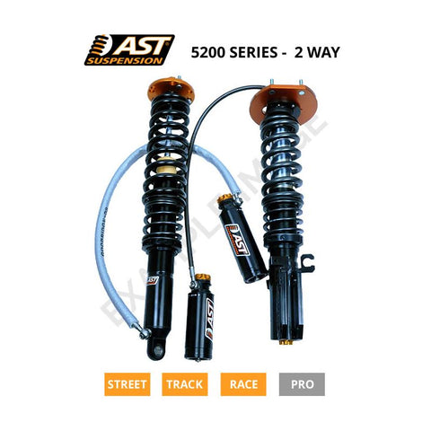AST Audi A3 8P1 2-Way 5200 Series Shock Absorber