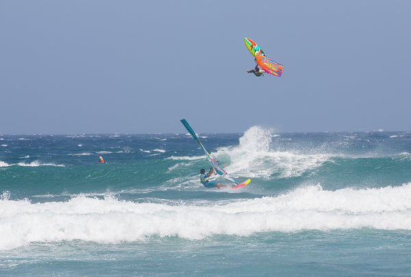 Robby Swift 6th place Tenerife on Wave Wizard