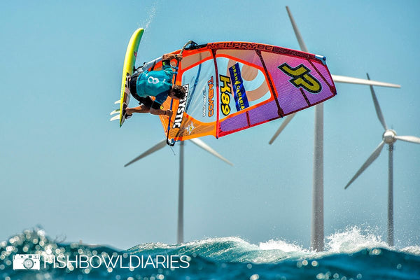 Robby Swift 5th place Pozo on Wave Wizard