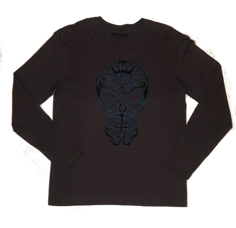 Endorphasm Skull Long Sleeve Dark Grey