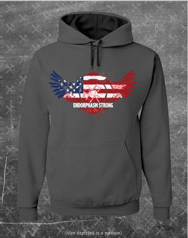Firefighter Endorphasm Strong Pullover Grey