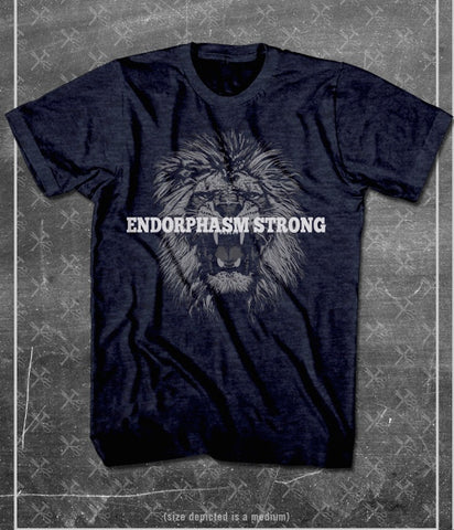 Endorphasm Strong Tee Midnight Navy