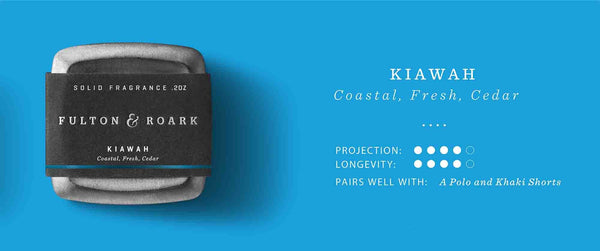 Kiawah Solid Fragrance/Cologne