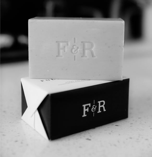 Image of two Fulton & Roark Bar Soaps stacked