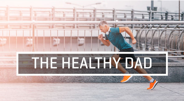 The Healthy Dad: Image of Man running on track