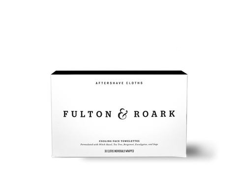 Box of 30 Fulton & Roark Aftershave Cloths