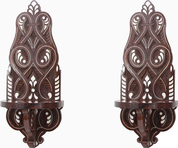 Candleholders Wall Sconces (Set of 2)