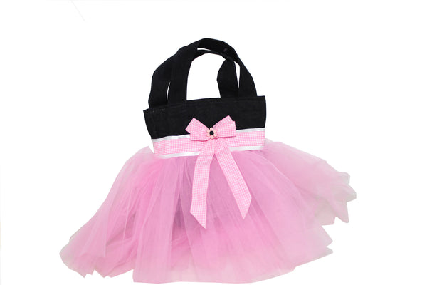 Eid Handbag -- Black & Pink