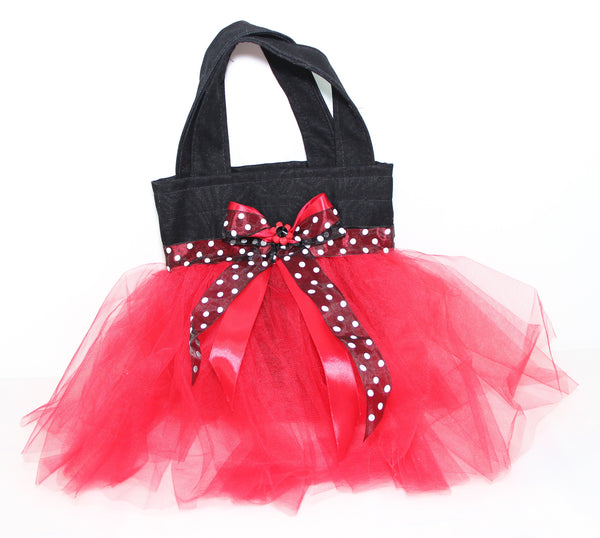 Eid Handbag -- Black & Red