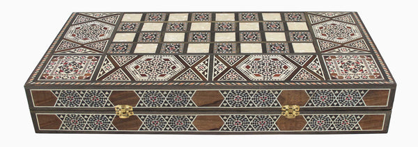 Mosaic Backgammon Box - Syriana