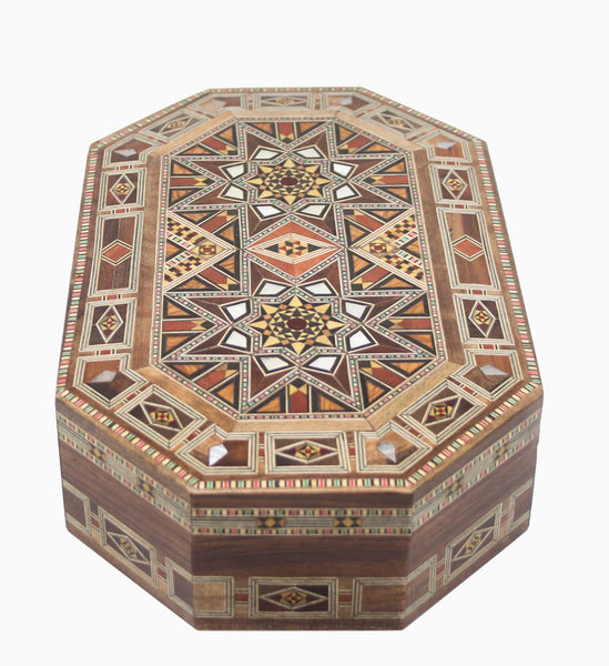 Oval Mosaic Boxes - Set of 3 - Syriana
