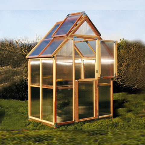 Sunshine Gardenhouse Mt. Hood Greenhouse 6X4 ft - GreenhouseTalk - 1