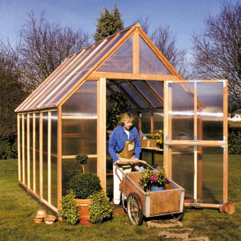 Sunshine Gardenhouse Mt. Rainier Greenhouse 8X12 ft - GreenhouseTalk - 1
