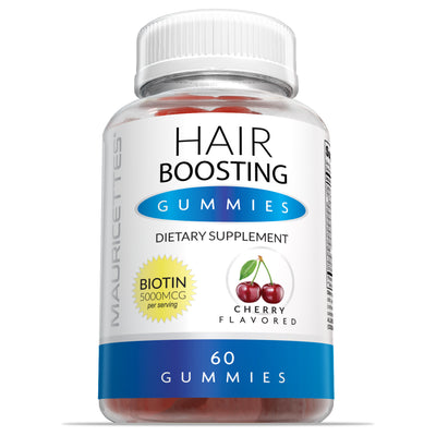 Hair Boosting Gummies with 5000mcg Biotin