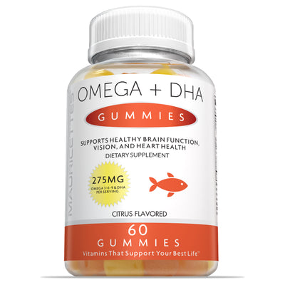 Omega DHA Gummies with Omega 3 6 & 9