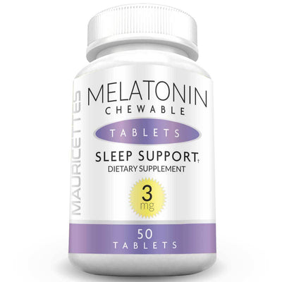Mauricettes Chewable Melatonin 3mg Sleep Support