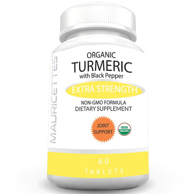 Mauricettes Organic Turmeric with Black Pepper