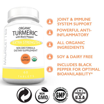 Organic Turmeric with Black Pepper