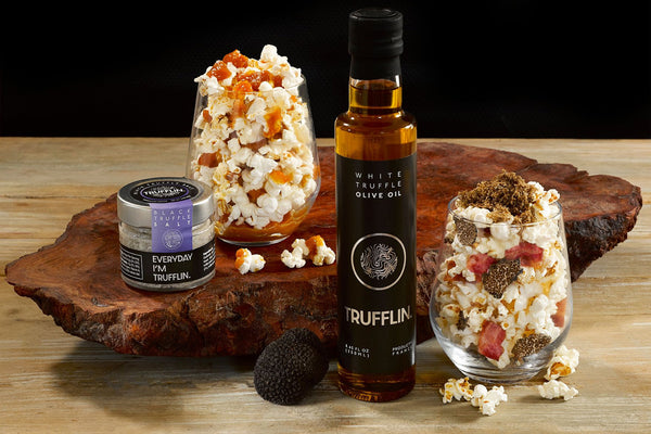 TALE OF TWO POPCORNS, SWEET & SAVORY