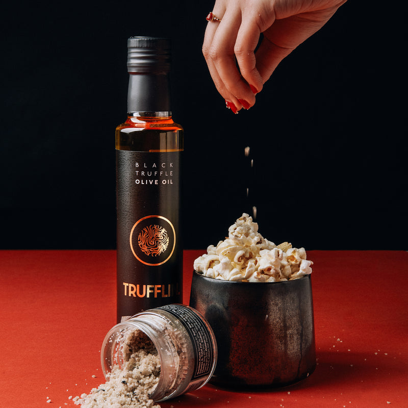 TRUFFLIN® Black Truffle Oil w/ Real Black Truffles