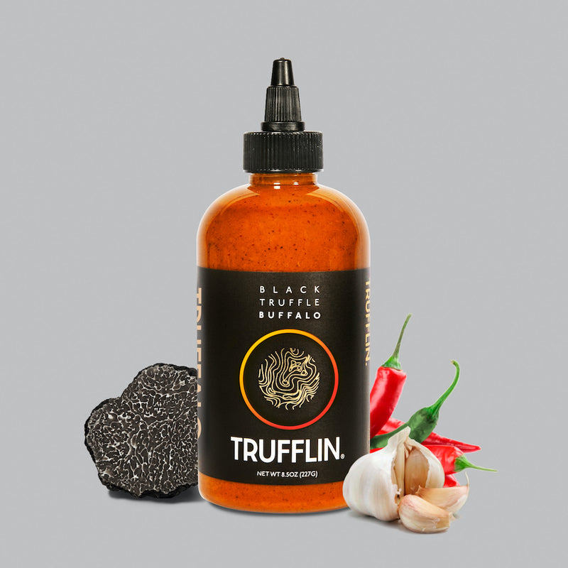 TRUFFLIN® Truffalo - Black Truffle Infused Buffalo Sauce 8.5oz