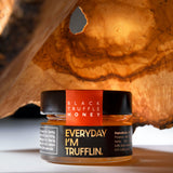 Trufflin VIP Set - Organic Black Truffle Oil, Sriracha, Gourmet Salt, Raw Provencal Honey