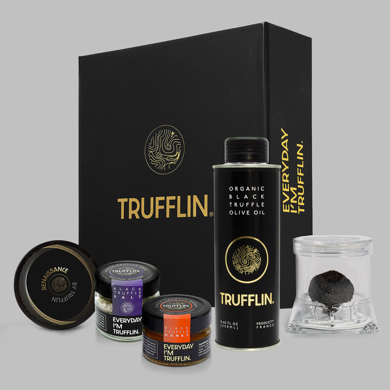 TRUFFLIN® Truffles & Caviar Black Gold Set