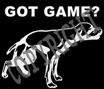 Got Game? Vinyl Decal
