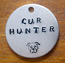 Cur Hunter - Dog Tag