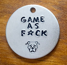 Game As F*ck - Dog Tag